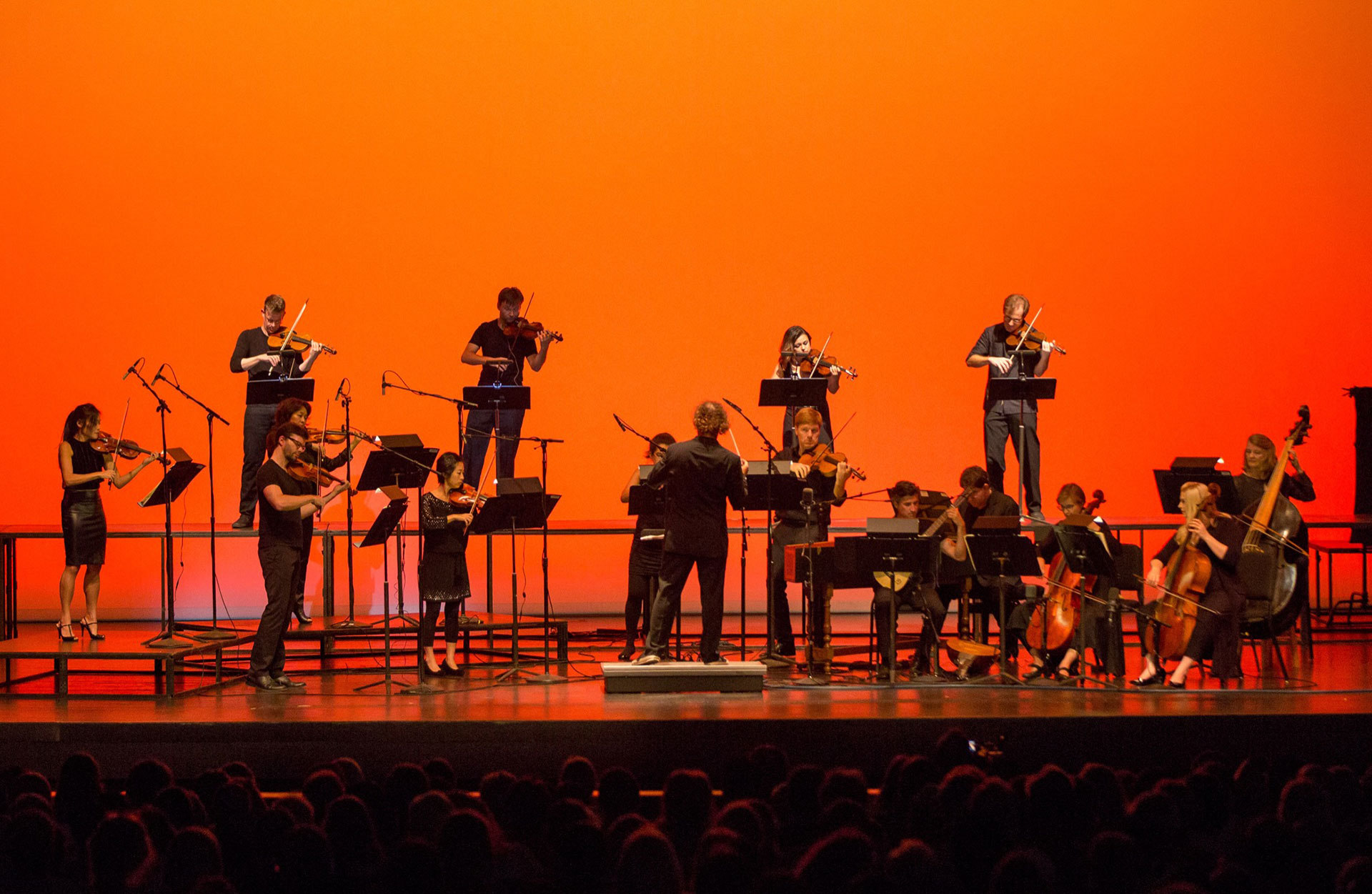 Mercury opens UHCL's theater season with 'battle of the bands'-style classical violin performance