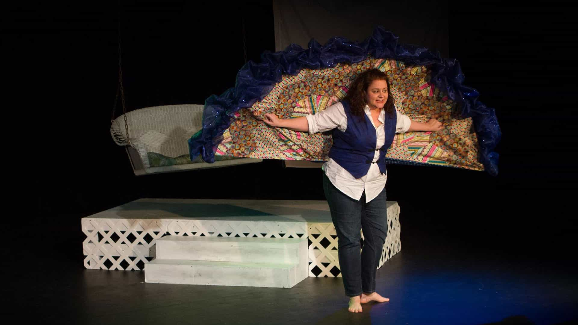 Hospitality, grace themes of one-woman show coming to Bayou Theater