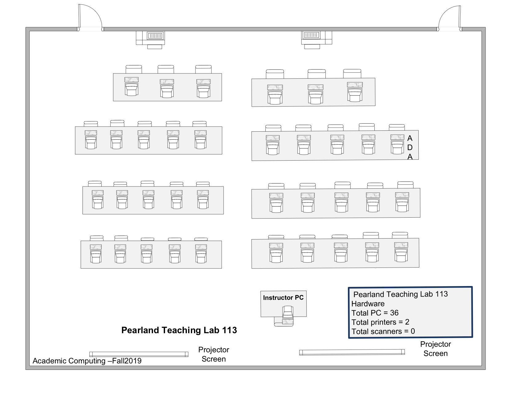pearland p113 layout
