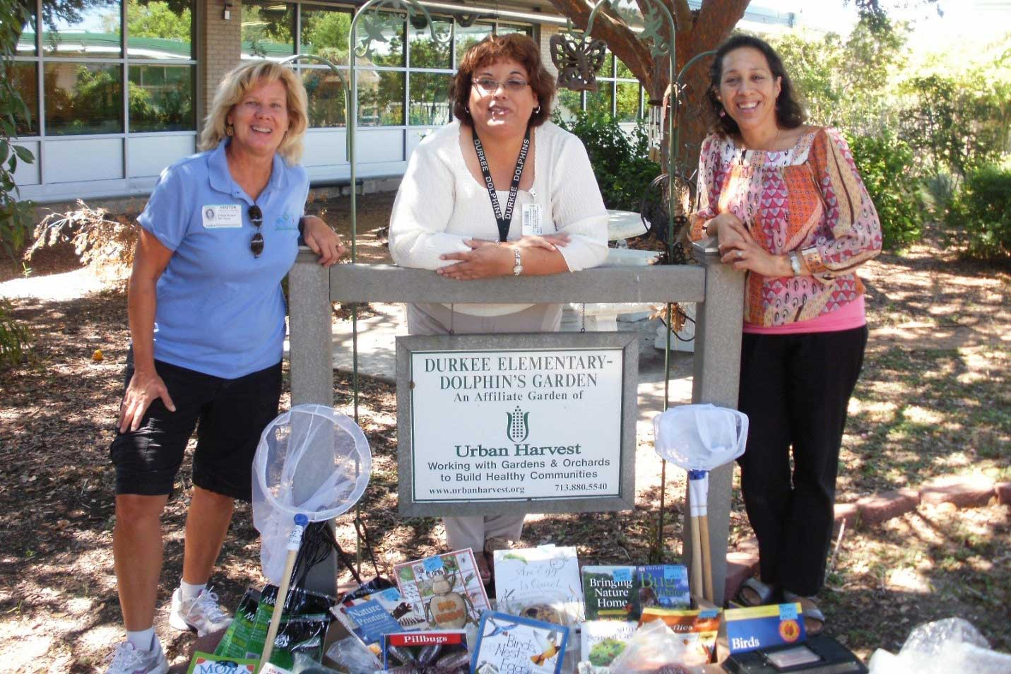 Sheila Brown delivers $1000 worth of curriculum materials to Durkee Elementary