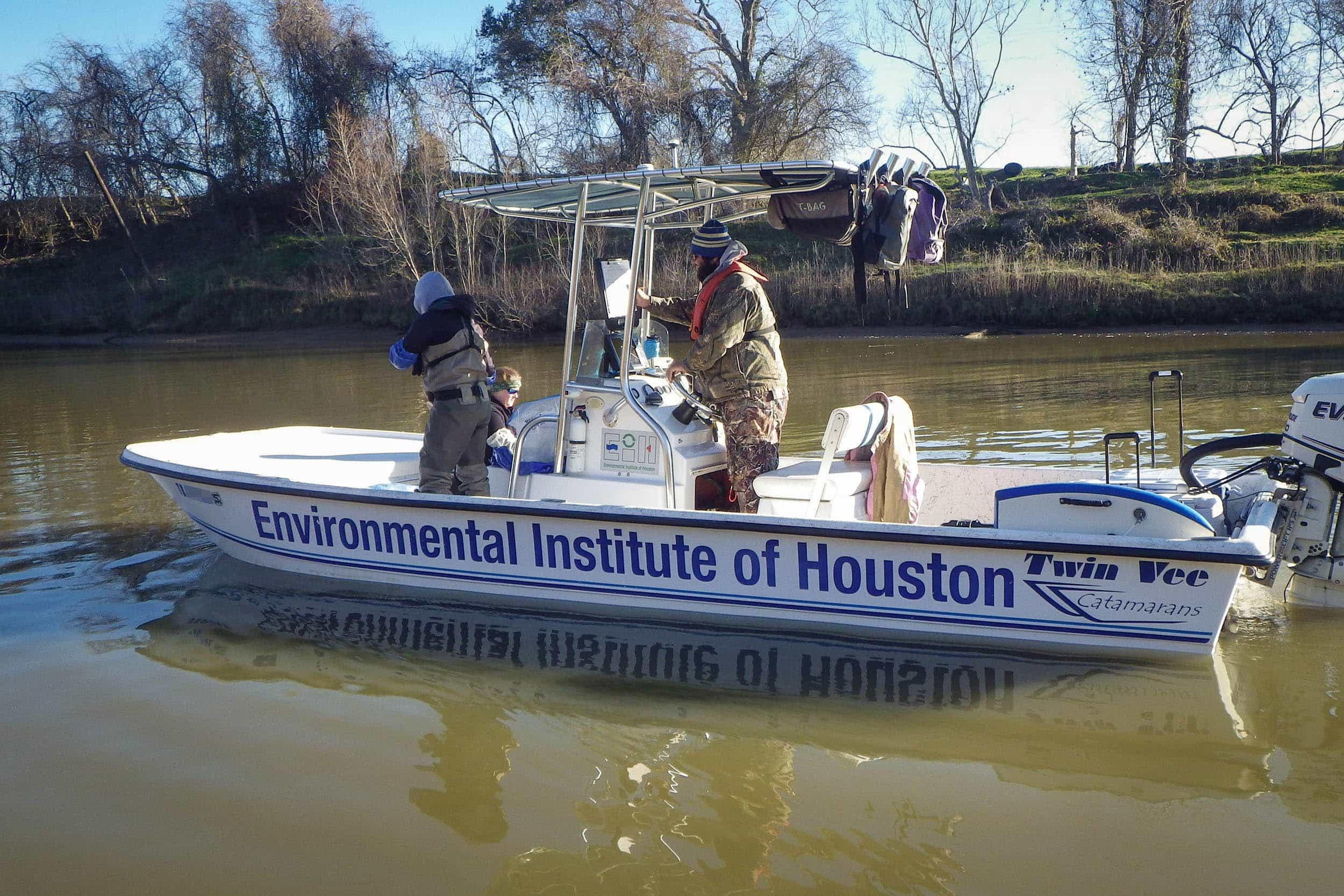 Sampling on the Brazos River