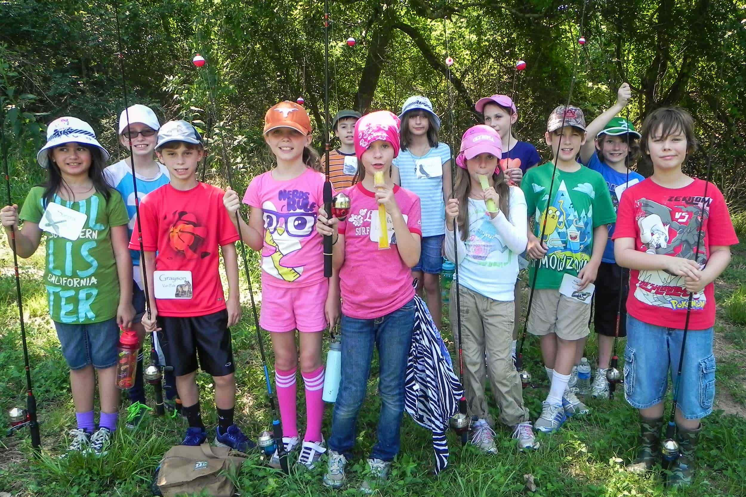Summer camp at the Environmental Institute of Houston
