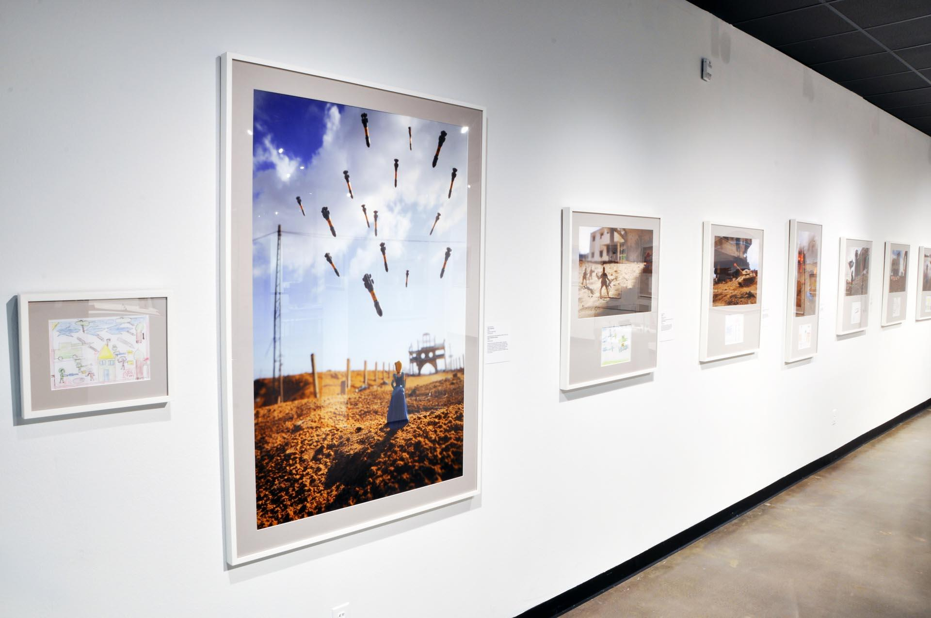 Installation image from WAR-TOYS: Israel, West Bank, and Gaza Strip