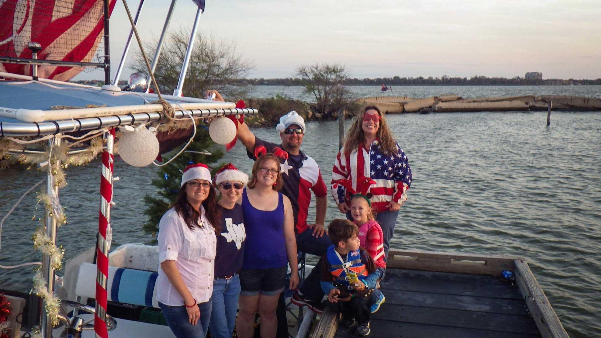 Patriotic Christmas Crew